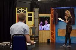 Early rehearsals for The Many Doors of Frank Feelbad