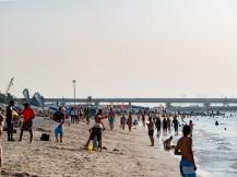 Jumeirah beach, Dubai. Olympus 75mm f1.8 Street photography