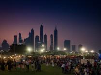 Groove on the Grass Emirates Golf Club, Dubai